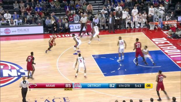 GAME RECAP: Heat 97, Pistons 96