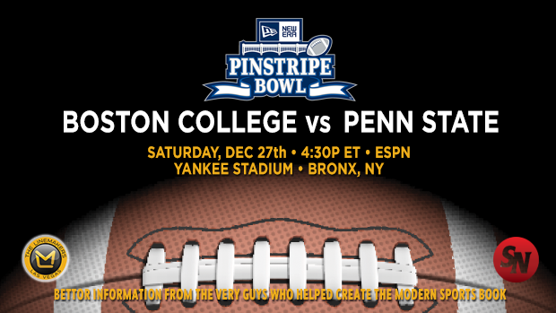 Boston College Eagles vs. Penn State Nittany Lions