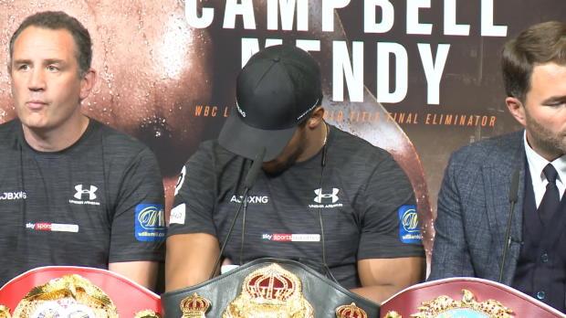 Boxen: Joshua: Härtester Gegner seit Klitschko