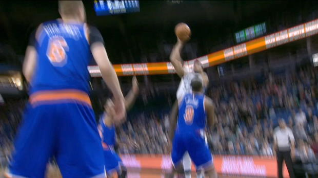 GAME RECAP: Knicks 106, Timberwolves 104