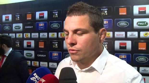 Top 14 - Finale : Guirado : 'Le Racing a �t� h�ro�que'