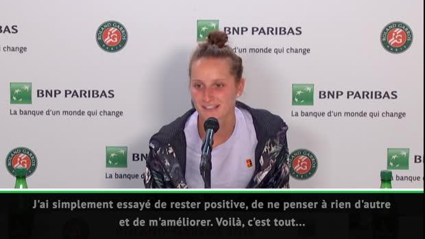 """Basket : Roland-Garros - Vondrousova - """"La plus belle semaine de ma vie"""""""