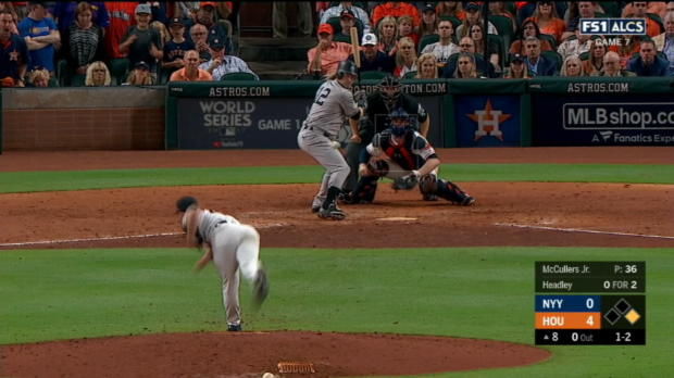 McCullers' 24 consecutive curves
