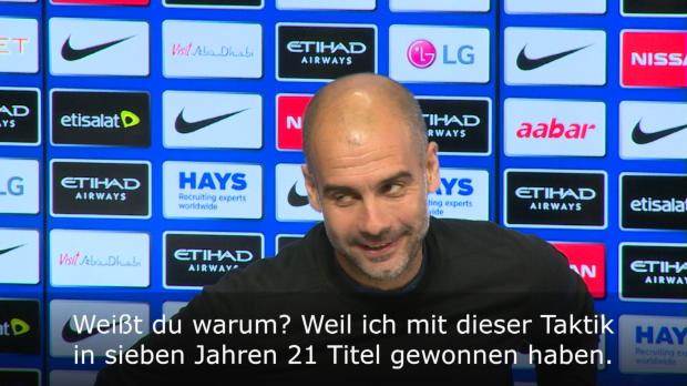 """Guardiola genervt: """"… dann werde ich gehen"""""""