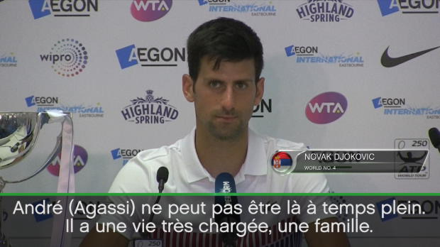 "Basket : Eastbourne - Djokovic - ""Mario Ancic ? La personne idéale"""