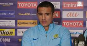 Caltex Socceroos talisman Tim Cahill says Australia need to be 'fearless' against Thailand on Tuesday night in Melbourne.