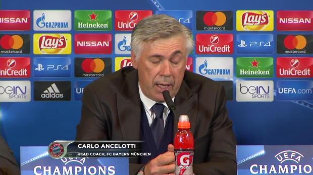 """Ancelotti: """"War das erwartet schwere Spiel"""""""