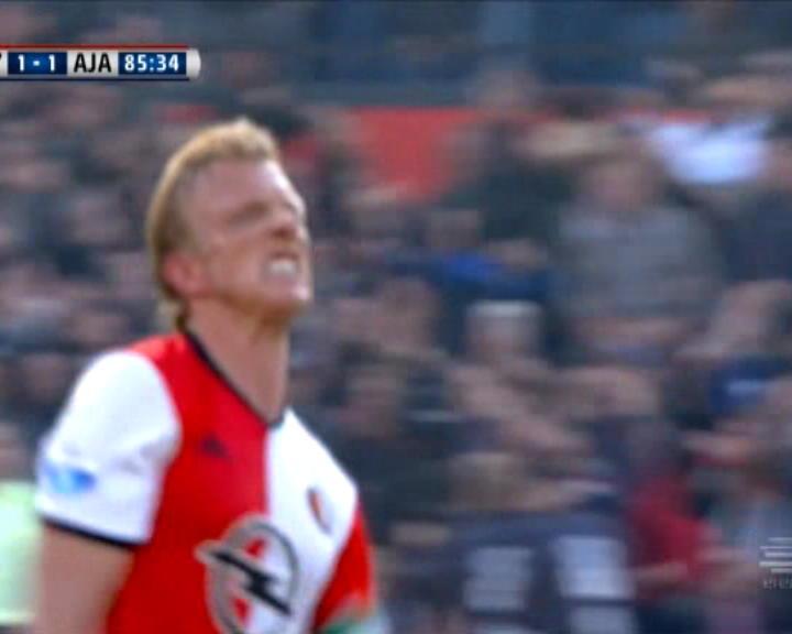 كرة قدم: الدوري الهولندي: فينورد 1-1 اياكس
