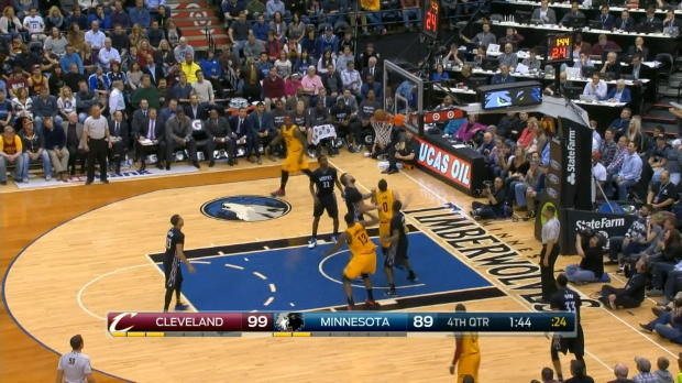 NBA - Lebron James dompte le prodige Wiggins