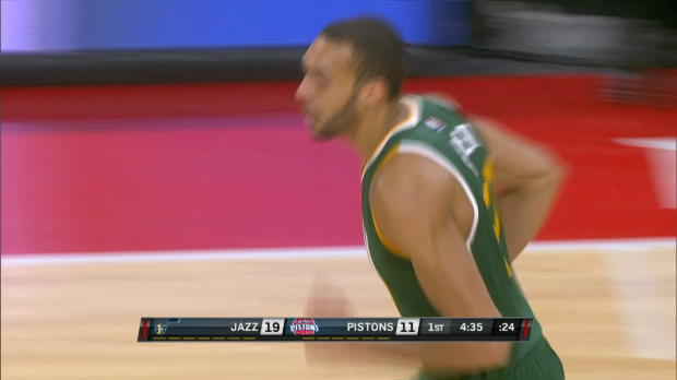 Assist Of The Night: Rudy Gobert