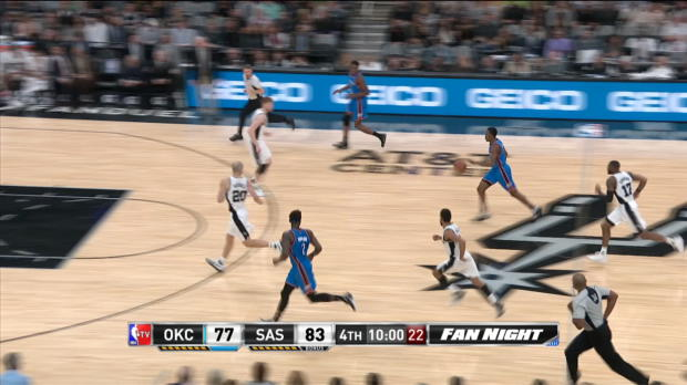 Block of the Night - Jonathon Simmons