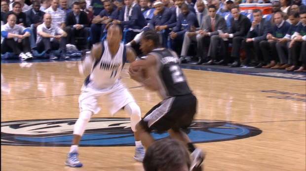 Kawhi Leonard is the 2015 Kia NBA Defensive Player of the Year