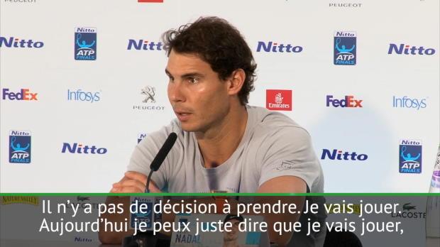 Basket : Masters - Nadal n'a pas de doute sur sa participation