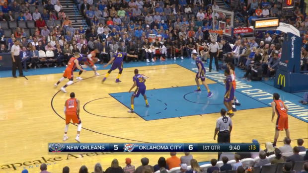 WSC: Highlights: Anthony Davis (38 points) vs. the Thunder,
