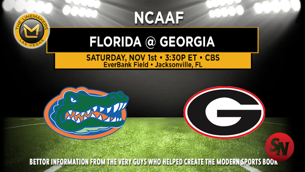 Florida Gators @ Georgia Bulldogs