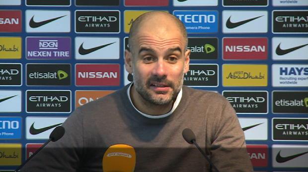 """Guardiola zu Hattrick: """"Aguero hat eine Gabe"""""""