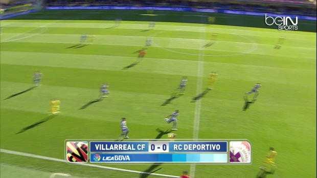 Liga : Villarreal 3-0 Deportivo