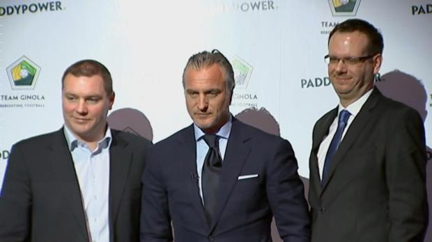 Presidente de la FIFA Ginola, �parodia o acicate?