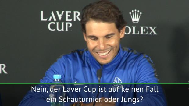 """Laver Cup kein """"Schauturnier"""" für Nadal"""