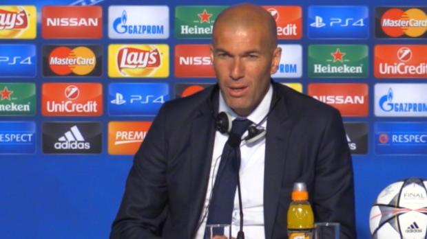 "Zidane: ""Mussten richtig leiden"""