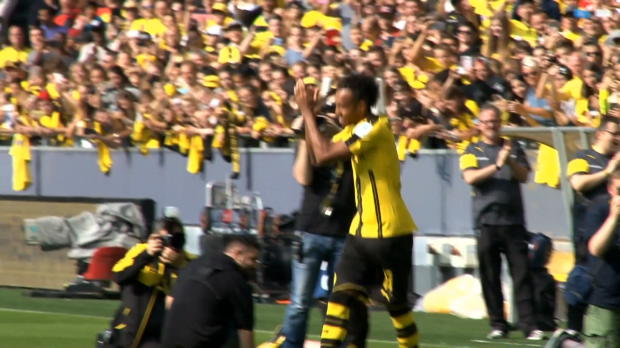 Aubameyang: Torgarantie auf Abschiedstour?