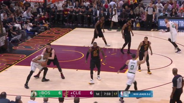 WSC: Jaylen Brown, Terry Rozier Top Plays vs. Cleveland Cavaliers, 05/25/2018