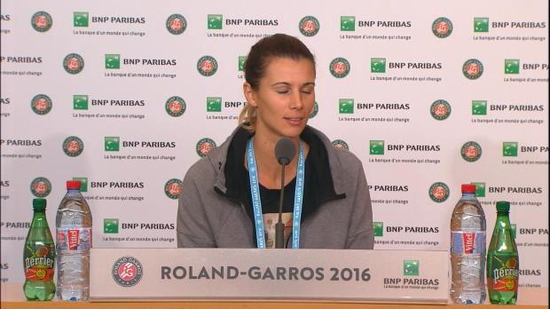 """French Open: Pironkova: """"Regen ausgeblendet"""""""