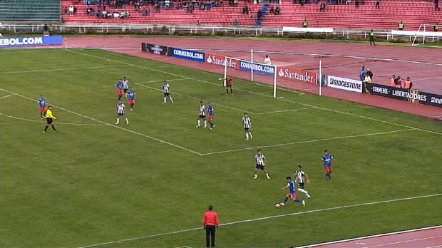 Copa Libertadores: Krummes Ding, Flanke drin!
