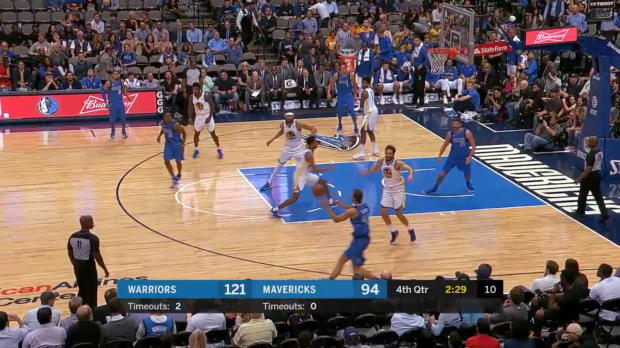 WSC: Maxi Kleber (2 points) Game Highlights vs. Golden State Warriors