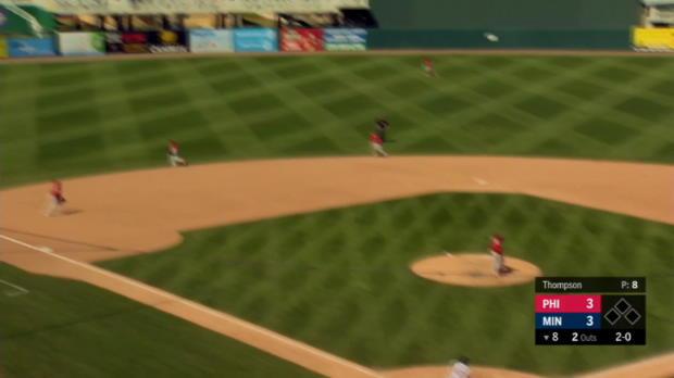 Petit's go-ahead home run