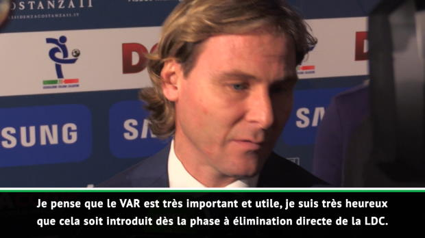Ligue des Champions - Nedved - 'Le VAR est important et utile'