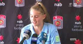 Sydney FC Westfield W-League striker Remy Siemsen has experienced a whirlwind start to her first ever season with the Sky Blues in 2016/17.