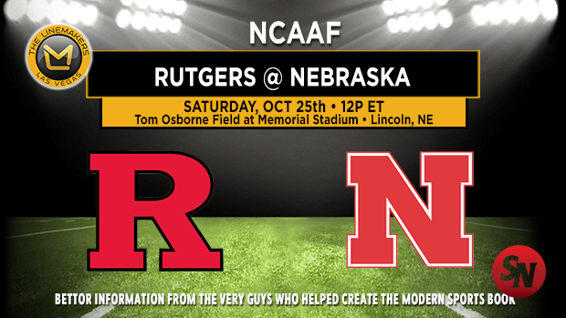 Rutgers Scarlet Knights @ Nebraska Cornhuskers