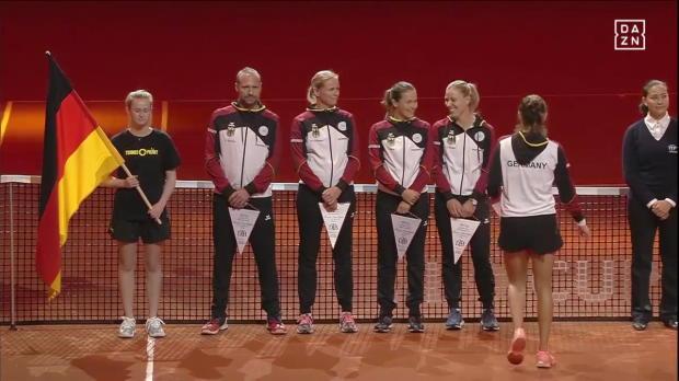 Fed Cup: Goerges - Kvitova