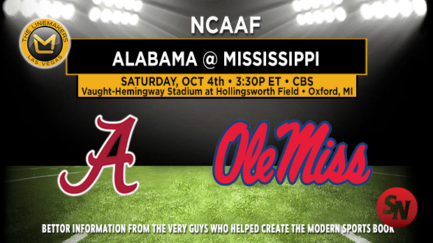 Alabama Crimson Tide @ Ole Miss Rebels