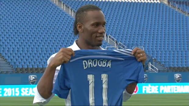 """Drogba in Montreal: Er bleibt ein """"Blue"""""""
