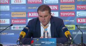 Socceroos boss Ange Postecoglou admitted his side weren't at their best against Japan.