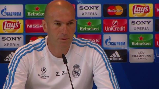 """Zidane zum Finale: """"... das wäre ein Fehler!"""""""