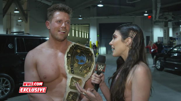 The Miz says his Intercontinental Title win will be talked about for 25 years: WWE.com Exclusive, Jan. 22, 2018
