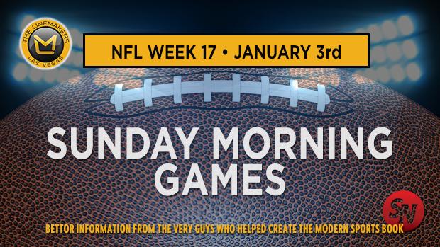 NFL Week 17 Sunday Morning