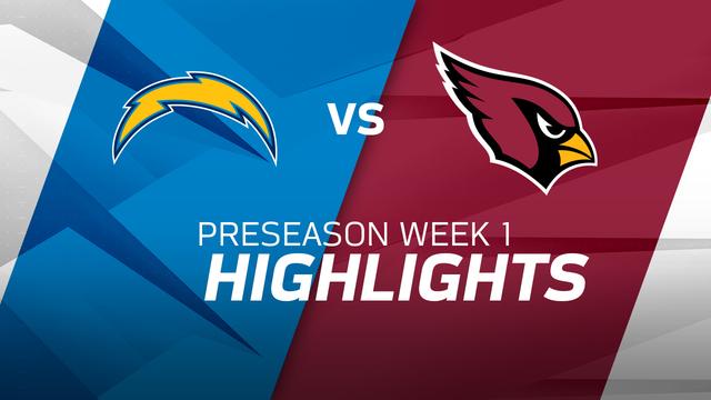 Chargers vs. Cardinals highlights | Preseason Week 1