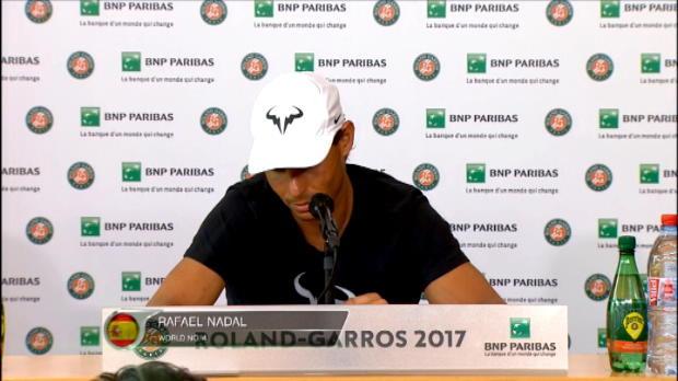 تنس: بطولة فرنسا المفتوحة: نادال ما برح متوترا رغم خطفه اللقب في تسع مناسبات