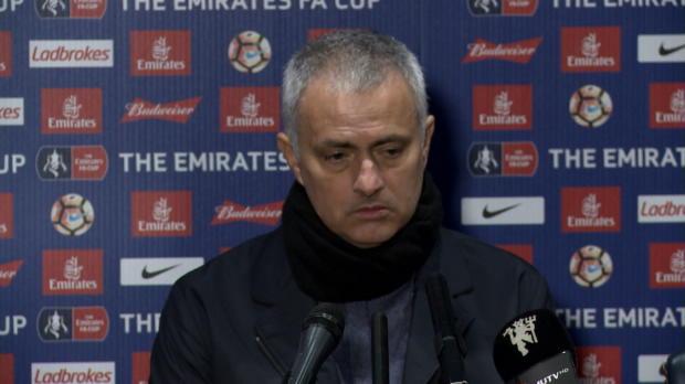 "FA-Cup: Mourinho: ""Ibrahimovic enorm wichtig"""
