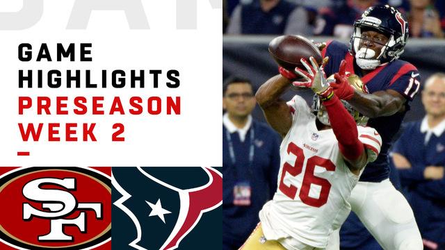 49ers vs. Texans highlights | Preseason Week 2