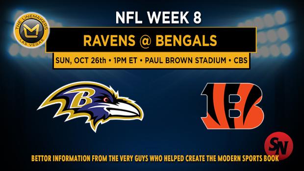 Baltimore Ravens @ Cincinnati Bengals
