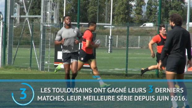 Top 14 - 7e j. : Toulouse vs. Clermont en chiffres