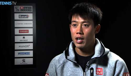 Nishikori Interview: ATP Basel QF