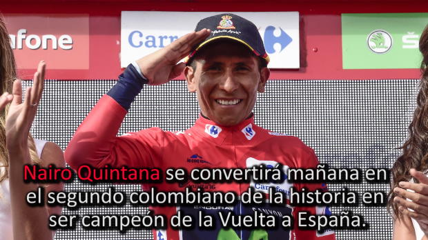 Vuelta a Espa�a: Etapa 20 - Nairo sentencia la ronda, Contador fuera del podio
