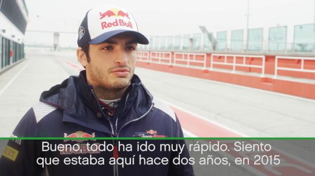 """Carlos Sainz Jr: """"El tiempo vuela en la Fórmula 1"""""""