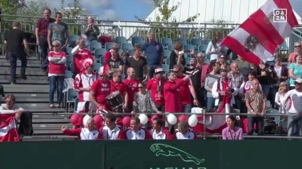 Österreich - Rumänien Tag 1 Spiel 1 Davis Cup